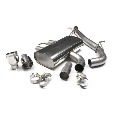 "Milltek Golf R 3"" Cat Back Exhaust Non Resonated"