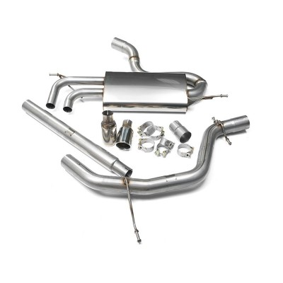 Milltek 2.0TDI Cat Back Exhaust Non-Res