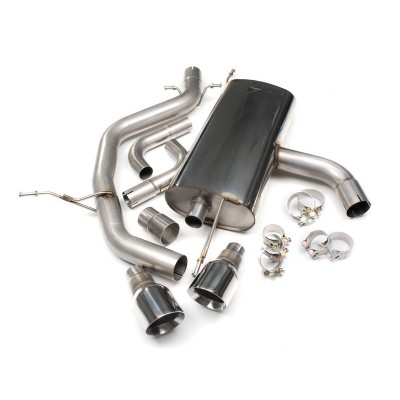 "Milltek 2.0T 2.75"" Cat back Exhaust Non Resonated"