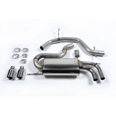 Milltek 2.0T Non Res Cat Back Exhaust
