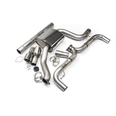 Milltek Cat-Back Exhaust Non Resonated