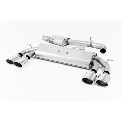 "Milltek 3"" Resonated Non-Valved Exhaust"