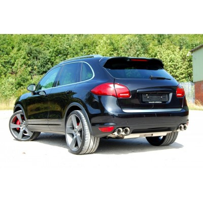 Milltek Catback Exhaust Cup-style for Cayenne Turbo