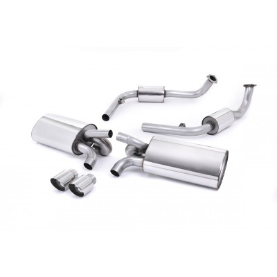 Milltek Cat Back Exhaust for 987S