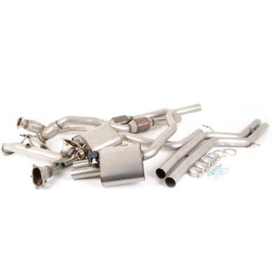 Milltek RS7 Turbo-Back Exhaust Non Resonated