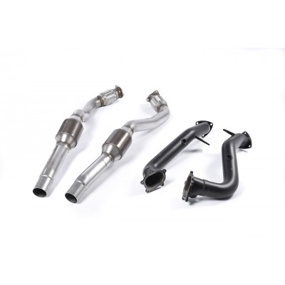 "Milltek 4.0T 3.00"" Downpipes"