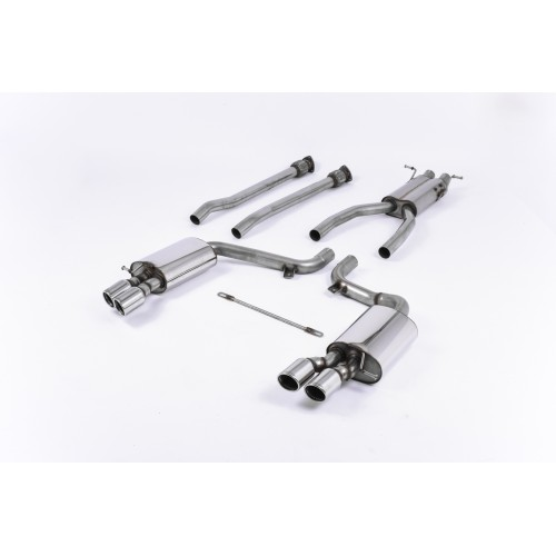 Milltek V10 Cat Back Exhaust Road+ (Semi-Resonated)