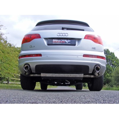 Milltek Q7 4.2L Cat Back Exhaust