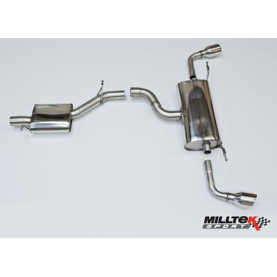 Milltek TT 3.2 Cat Back Exhaust Resonated