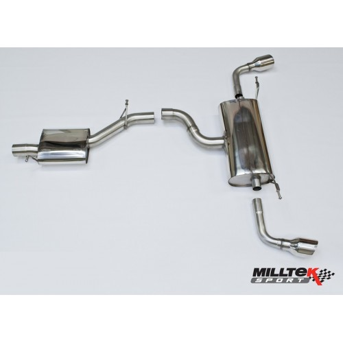 Milltek 3.2 Cat Back Exhaust Resonated
