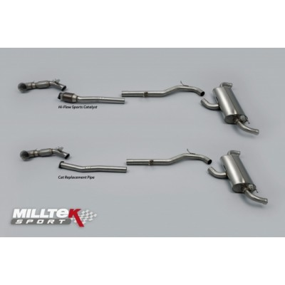 "Milltek TTRS 3"" Turbo Back Exhaust System"