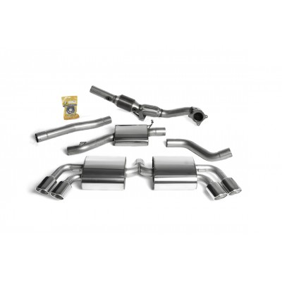 "Milltek TTS 2.75"" Turbo Back Exhaust"