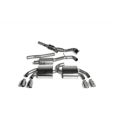 "Milltek TTS 3.00"" Turbo Back Exhaust"