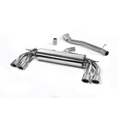 Milltek MK3 TTS Non Resonated Cat Back Exhaust