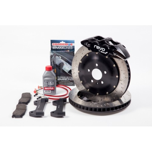 Revo 355 x 32mm Mono6 Big Brake Kit by Alcon