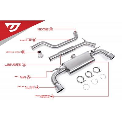 Unitronic Cat Back Exhaust for MK7 & 7.5 GTI