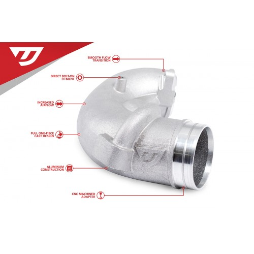 "Unitronic 3"" Turbo Inlet Elbow for 2.5TFSI"