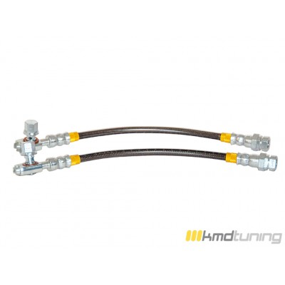 KMD Tuning Stainless Steel Brake Line- Rear Kit