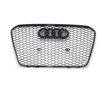 RS5 Gloss Black Mesh Style Grille